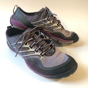Merrell Lithe Glove barefoot purple running/ 8.5
